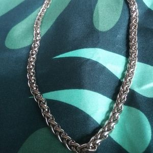Silver Chain Necklace Women's Jewelry